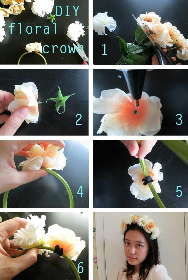 Beautiful DIY Floral Headband