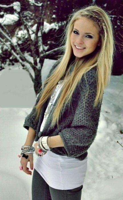 Beautiful Straight Hairstyle