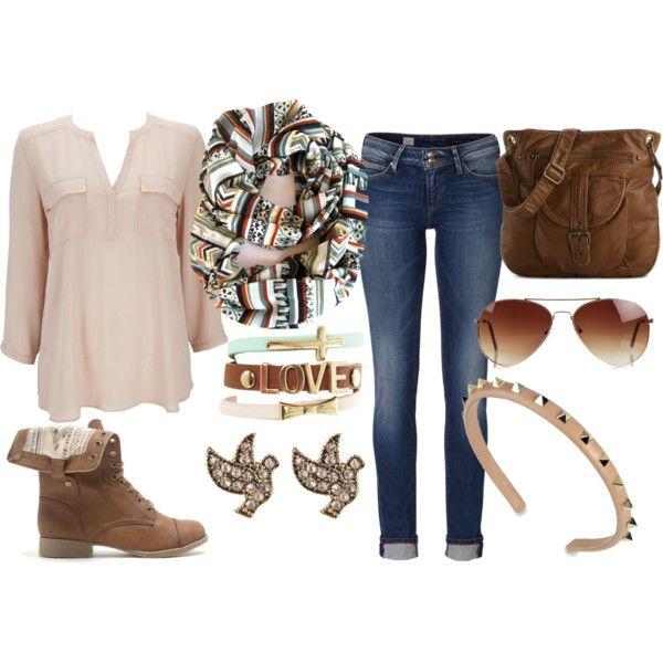 Boho Outfit Idea for Fall 2014