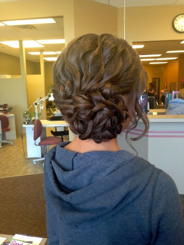 Braid Updo for Prom Hairstyles