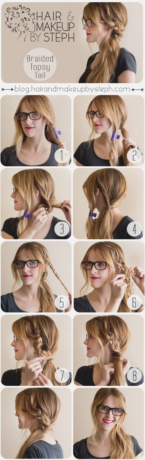 10 Hair Tutorials for You to Shine Everyday - Pretty Designs