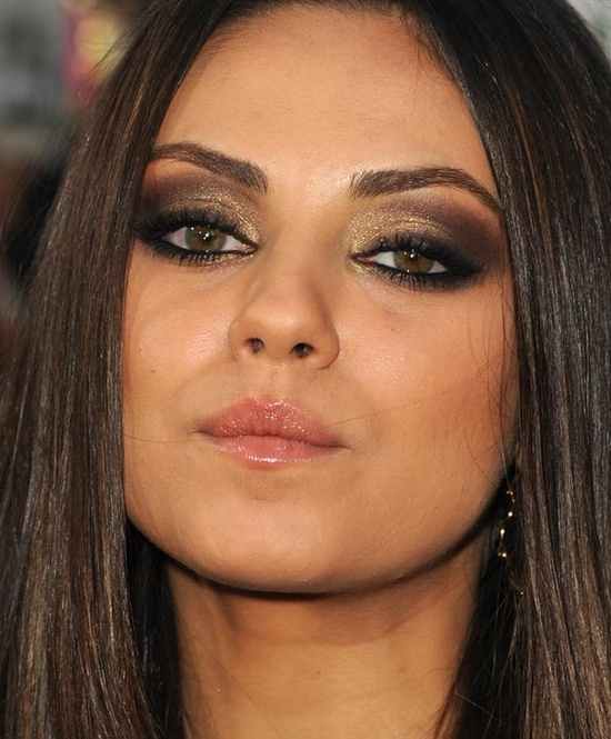 Brown Smoky Makeup Idea for Fall 2014