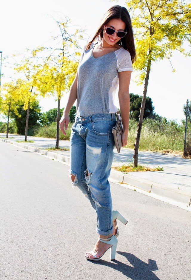 Stylish Outfit Ideas with Your Boyfriendsu0026#39; Jeans - Pretty Designs