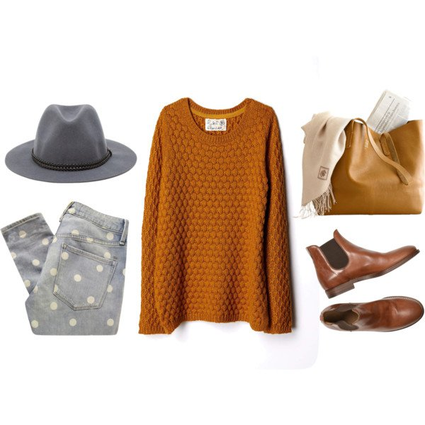 Casual-chic Outfit Idea with a Hat