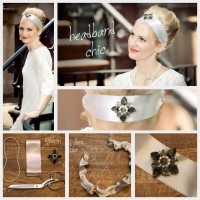 Chic DIY Stain Jewelry Headband