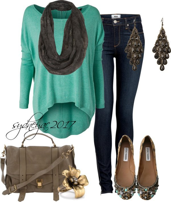 Chic Outfit Idea for Fall