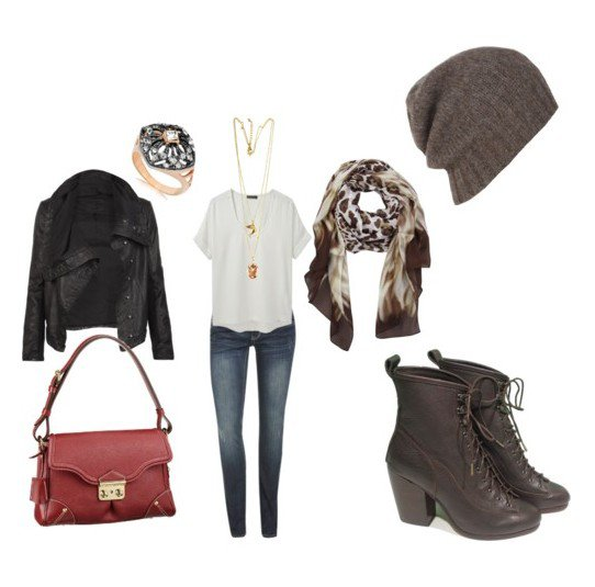 Chic Polyvore Combination for Fall