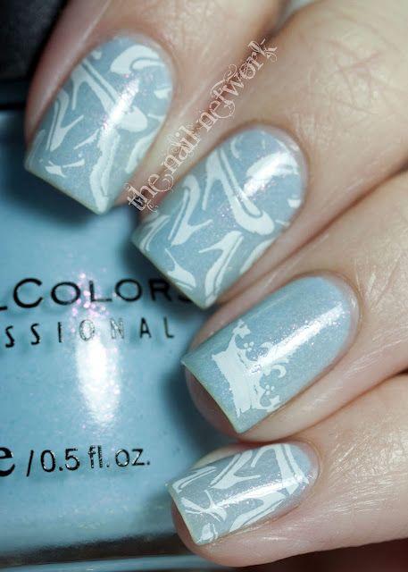 Cinderella Slipper Manicure