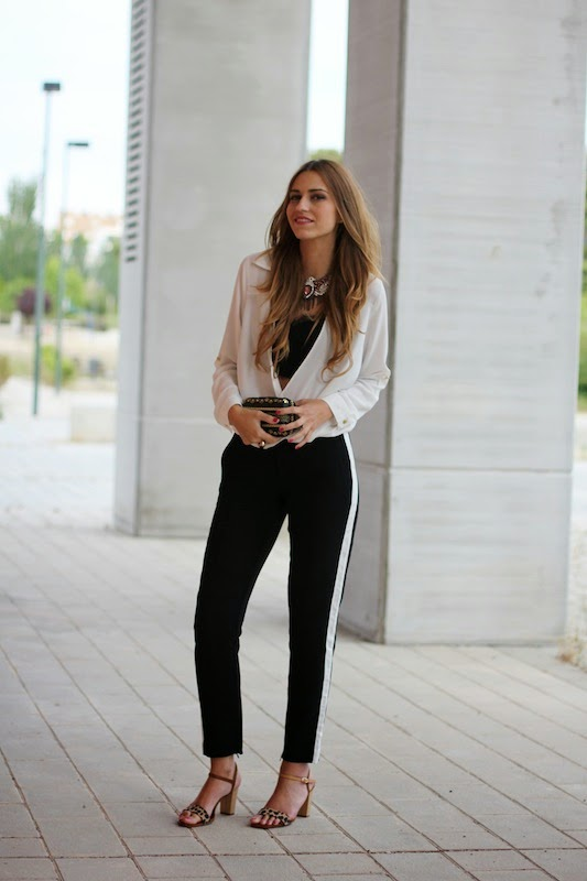 Classy Outfit Idea for Spring and Fall