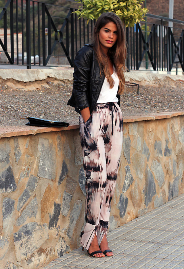 Cool Printed Outfit Idea for Fall 2014