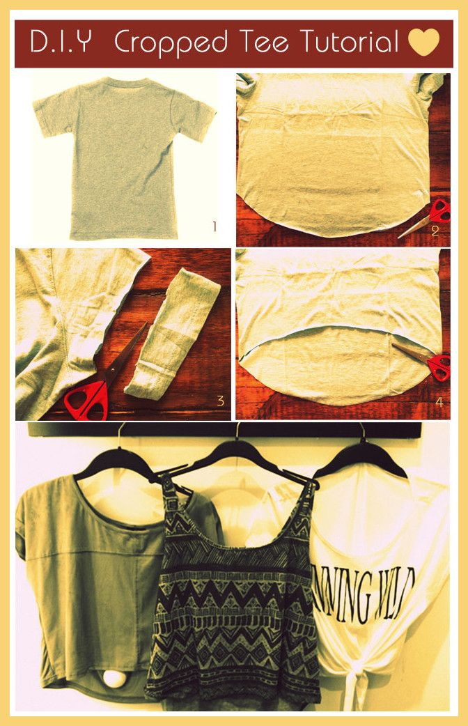Crop Tee Tutorial