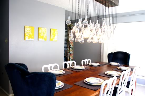 DIY Dinning Room Lights