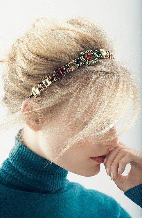 13 Ways To Make Diy Jeweled Headbands Pretty Designs
