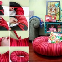 DIY Pouf Chair