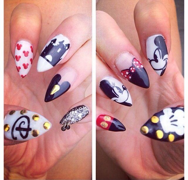 Disney Pointy Nails