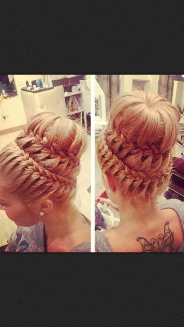 Swell 14 Amazing Double Braid Bun Hairstyles Pretty Designs Hairstyle Inspiration Daily Dogsangcom