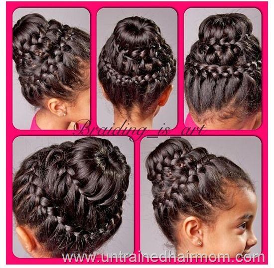 Magnificent 14 Amazing Double Braid Bun Hairstyles Pretty Designs Short Hairstyles For Black Women Fulllsitofus