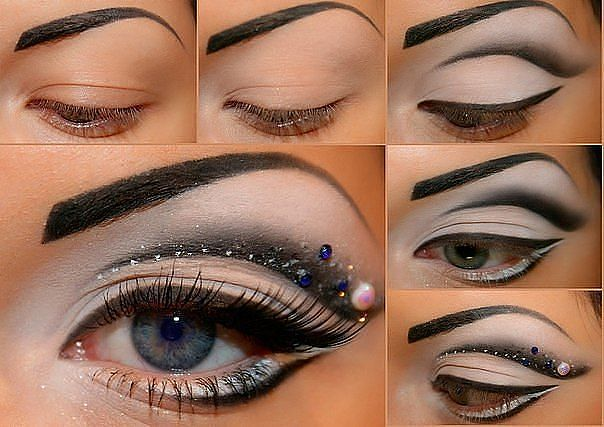 Dramatic Eye Makeup Tutorial for Night Look