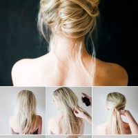 Easy Bun Hairstyle Tutorial