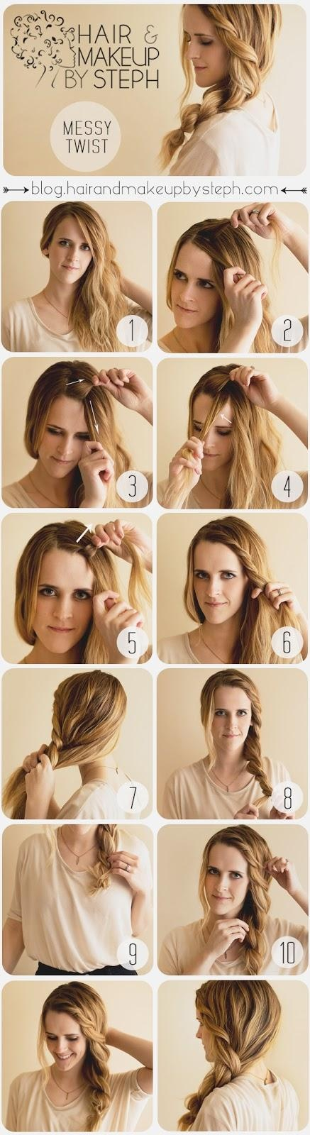 Cute Hairstyles Hair Tutorial with Twist