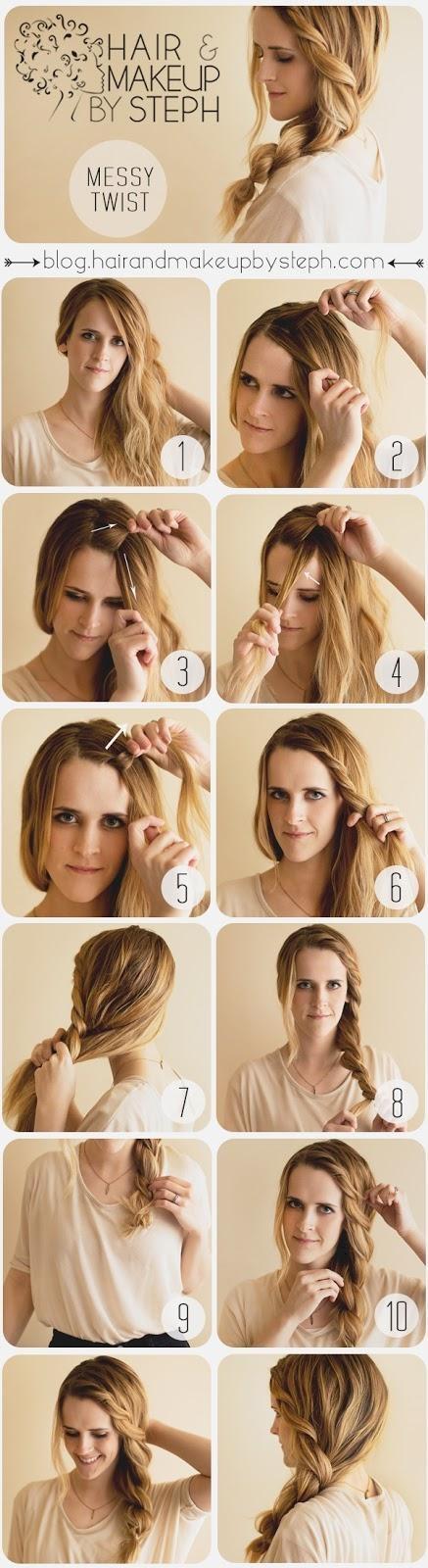 Cute Hairstyles Hair Tutorial with Twist
