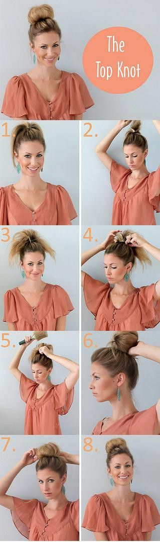 Easy Top Knot