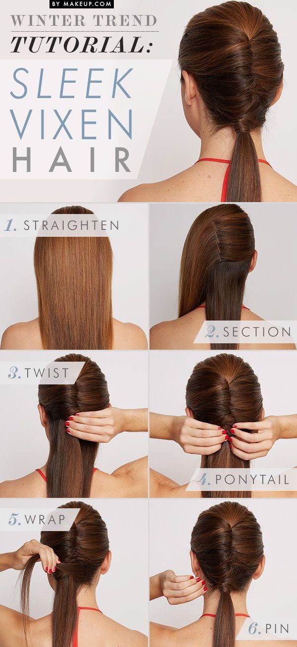 Easy Vixen Hairstyle Tutorial