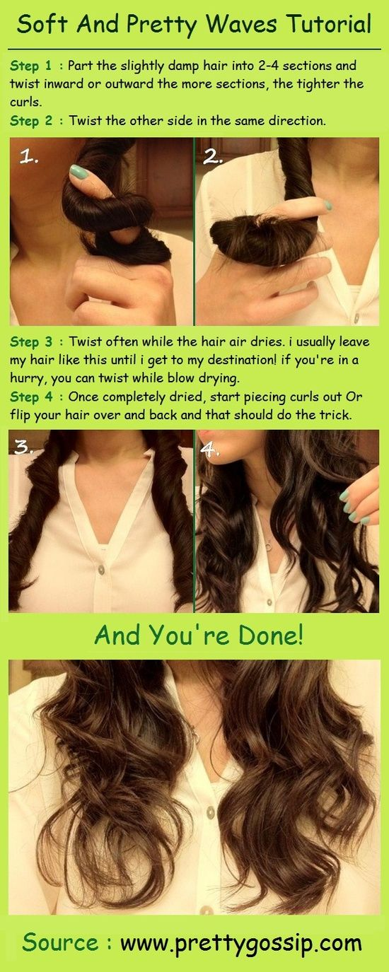 Easy Wavy Hairstyle Tutorial