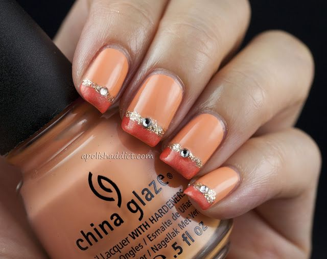 18 Pretty Orange Nail Designs Pretty Designs
