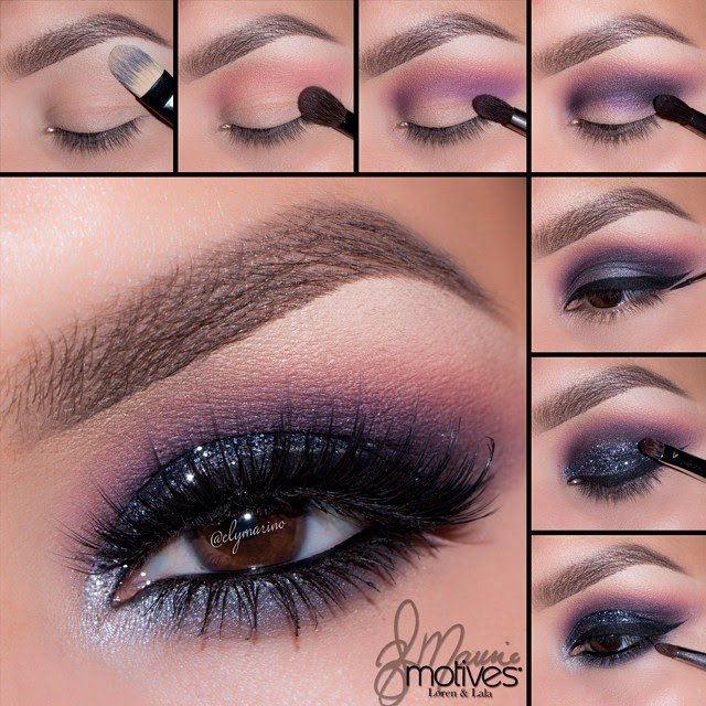 Fantastic Purple Smoky Eye Makeup Tutorial