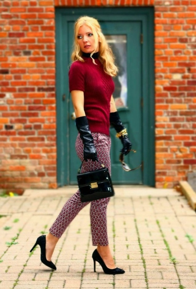 Feminine Outfit Idea with Prints