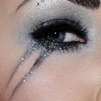Glittery Party Eye Makeup