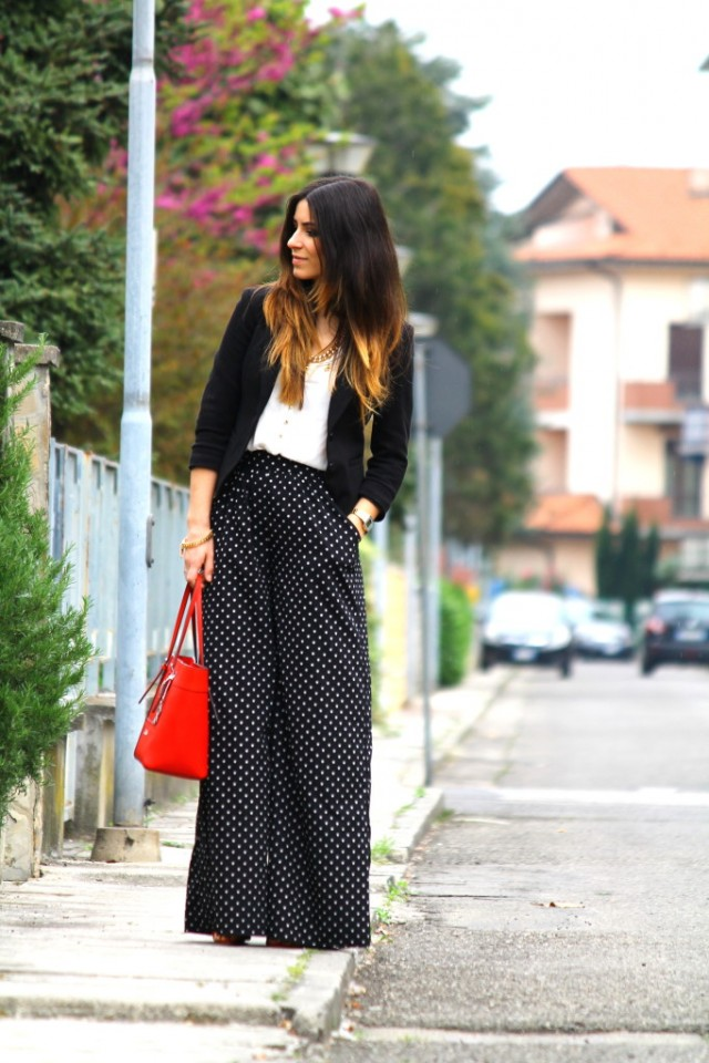 Gorgeous Black and White Outfit Idea