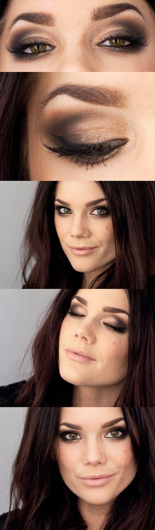 Gorgeous Smoky Eye Makeup Idea to Try