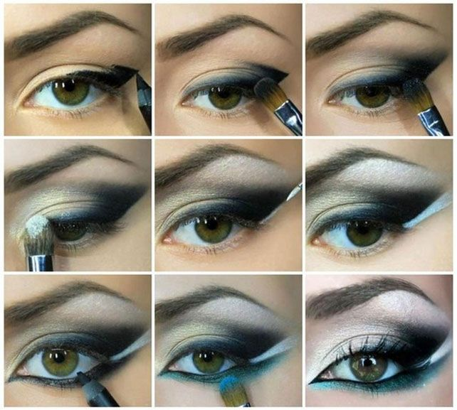 Green Winged Smokey Eyes