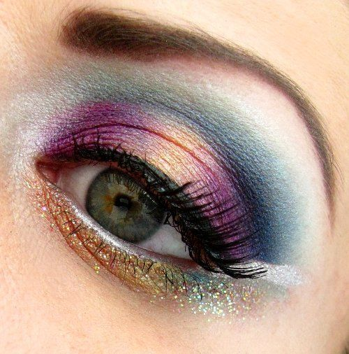 Jewel-Tone Makeup Idea for Fall 2014