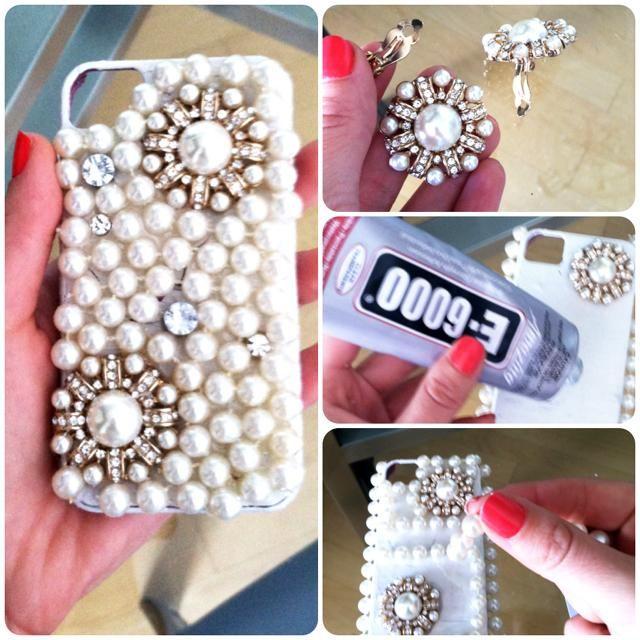 Jeweled Phone Case