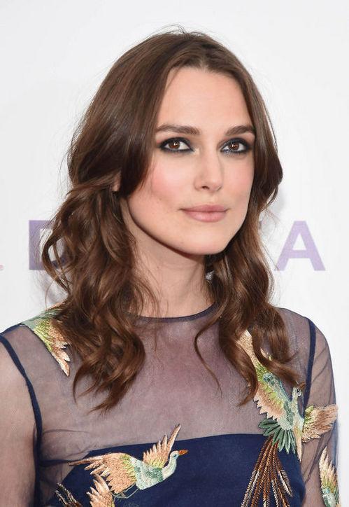 Keira Knightley's Brunette Curls