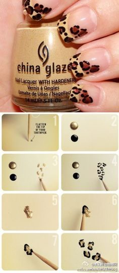Leopard Nails Tutorial