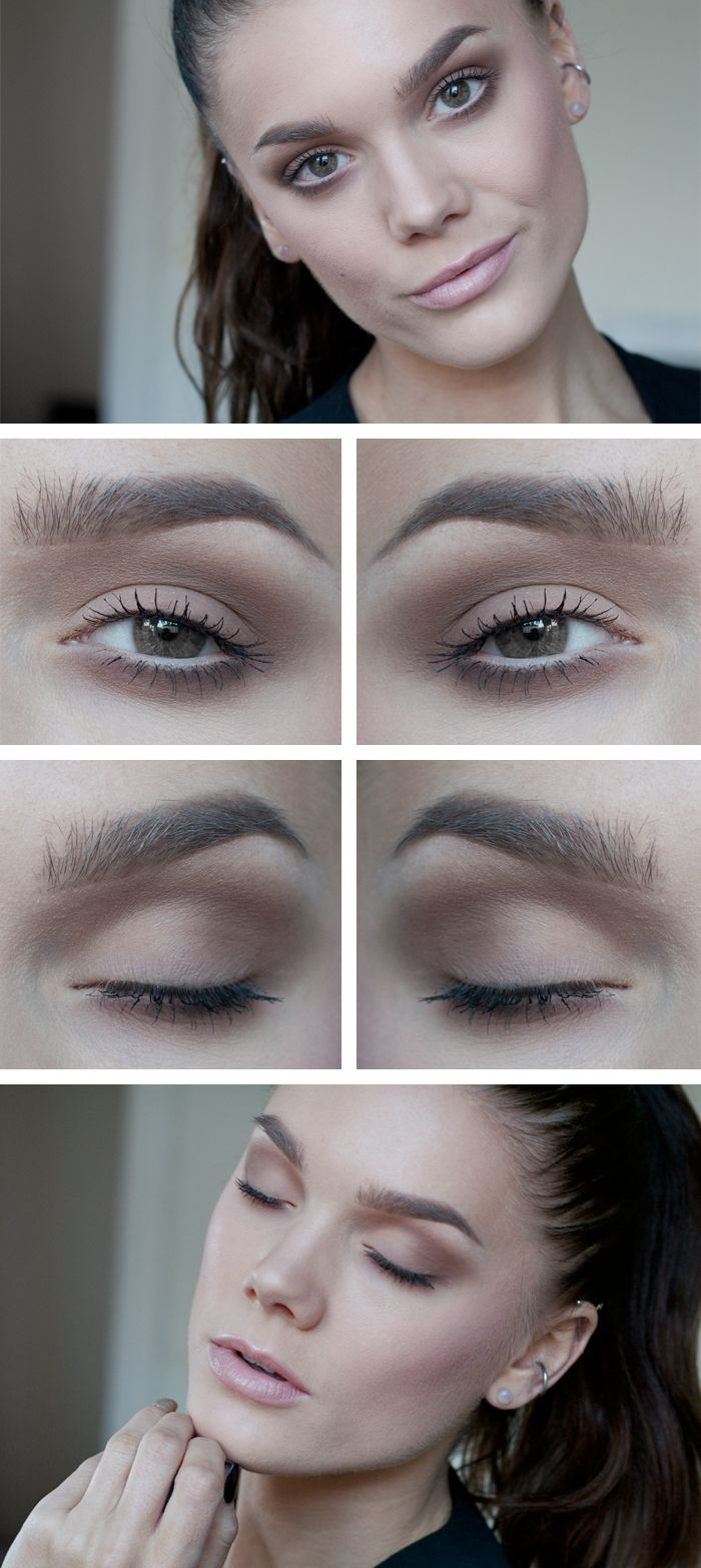 Light Coffee Eye Makeup Idea for Daily Occasions