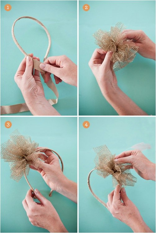 Lovely DIY Headband