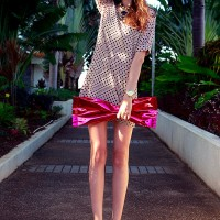 Lovely Polka Dot Dress for Summer