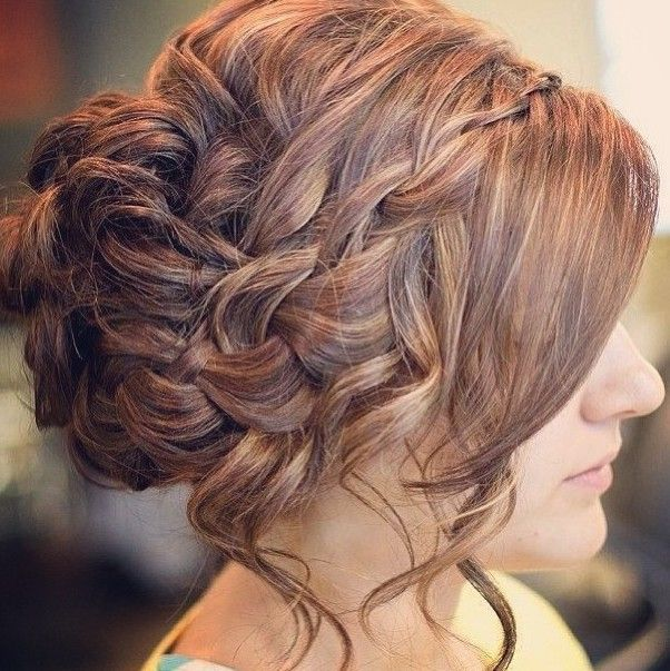 Messy Updo for Prom Hairstyles