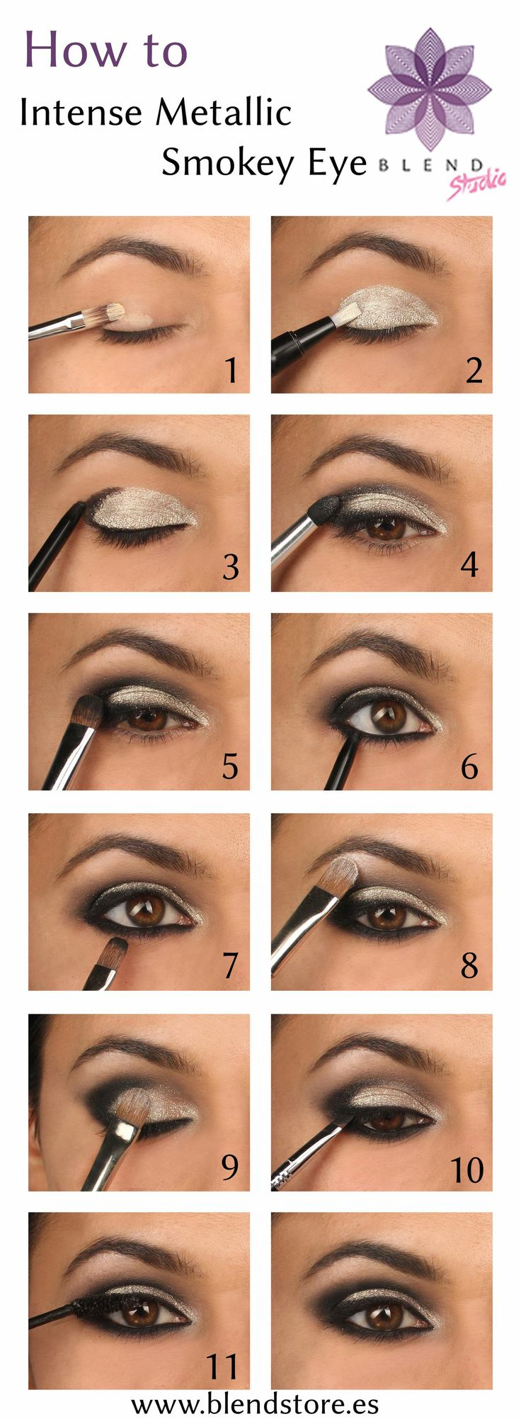 15 wonderful party eye makeup ideas pretty designs. Black Bedroom Furniture Sets. Home Design Ideas