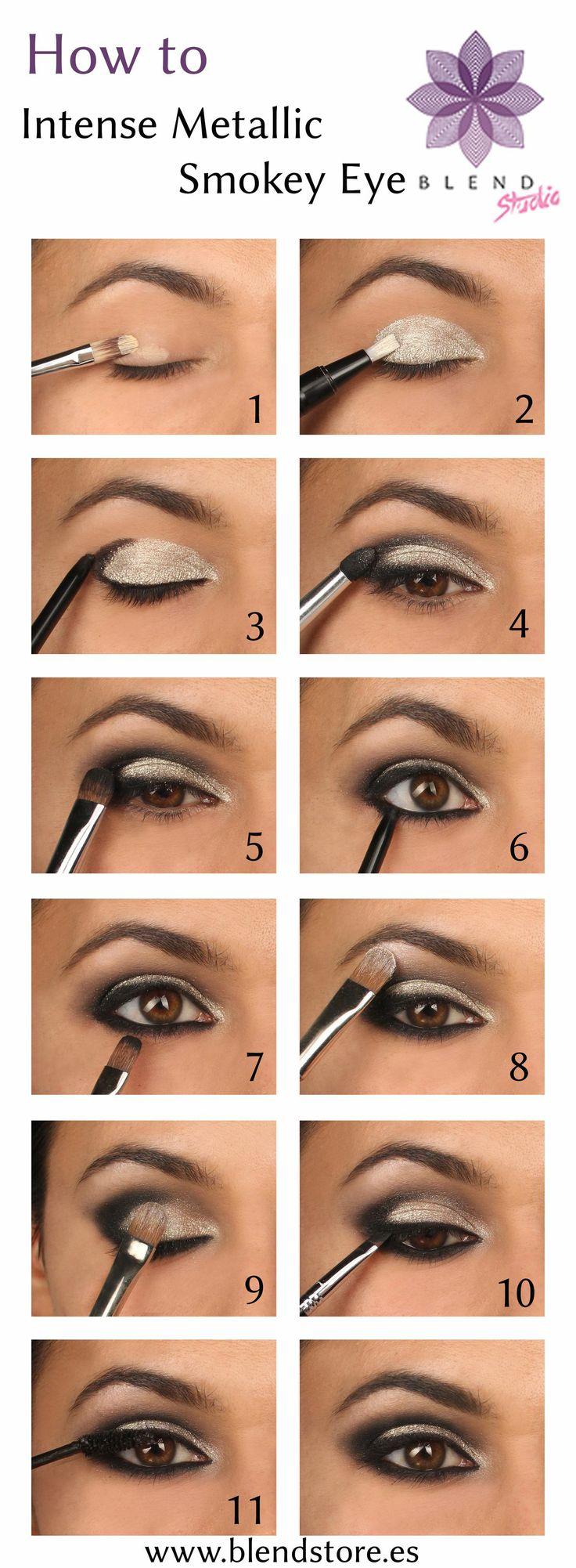 Wonderful Eye Makeup Tutorials You Need To Copy: 15 Wonderful Party Eye Makeup Ideas