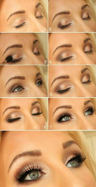Nude Party Eye Makeup Tutorial