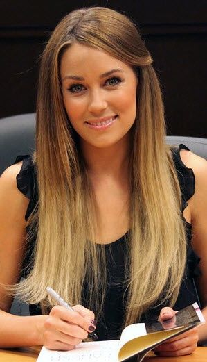 Ombre Straight Hairstyle