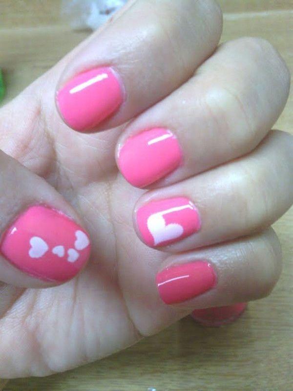 Simple And Sweet Nail Arts For Beginners Pretty Designs