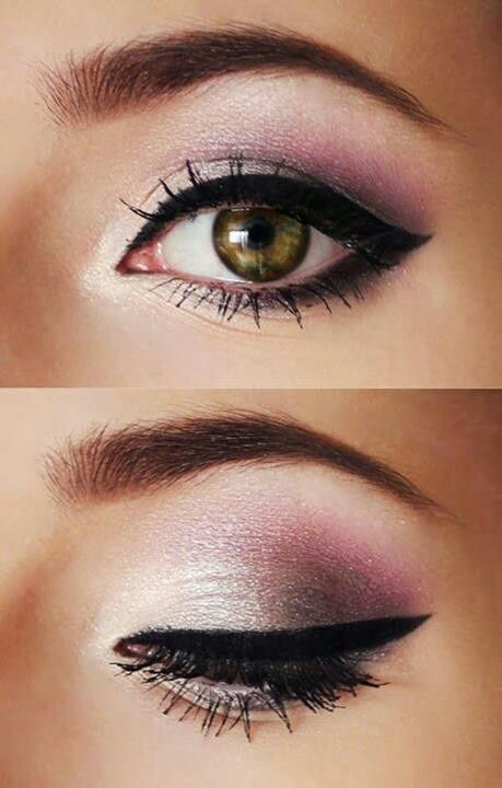 Pink Winged Smokey Eyes