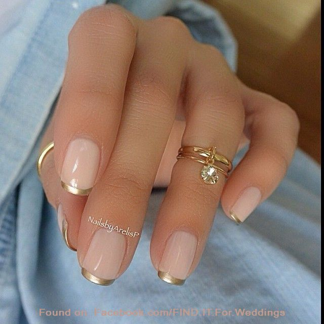 26 awesome french manicure designs hottest french manicure ideas. Black Bedroom Furniture Sets. Home Design Ideas